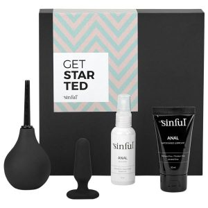 sinful get started kit color anal sexlegetøj