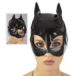 lak katte maske latex tøj