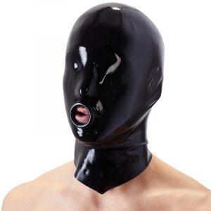 late x maske med ring latex tøj
