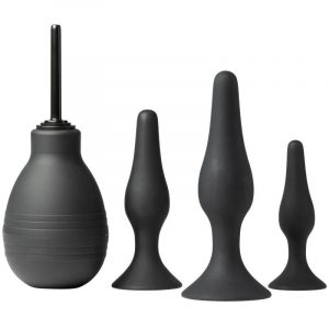 sinful triple fun anal training set buttplug