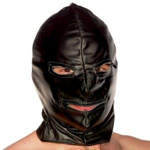 Lædermaske mand