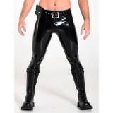 Stramme bukser til mænd i latex