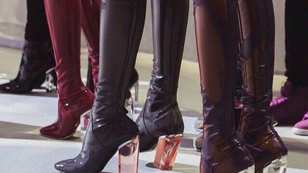 sort støvle hårdt sex