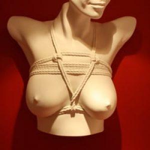 japansk brystbondage