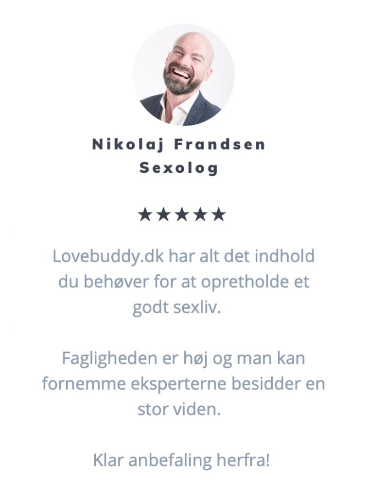 Anmeldelse fra vores læsere - Nikolaj Frandsen