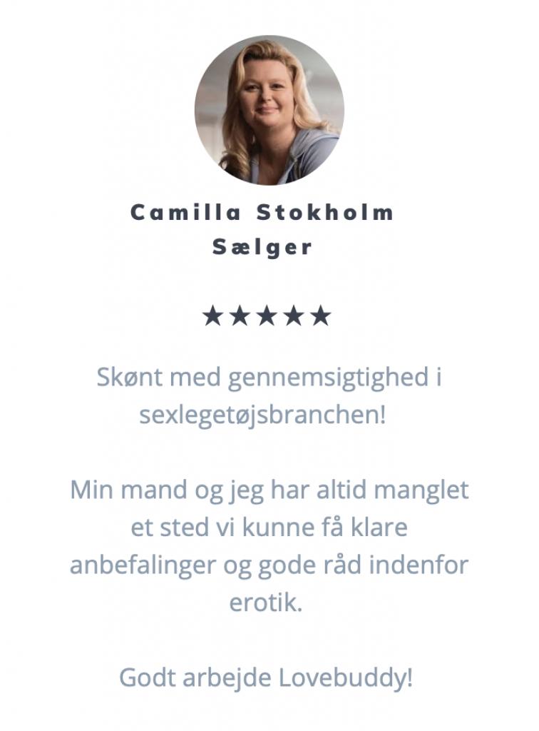 Anmeldelse fra vores læsere - Camilla Stokholm