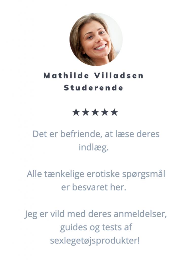 Anmeldelse fra vores læsere - Mathilde Villadsen