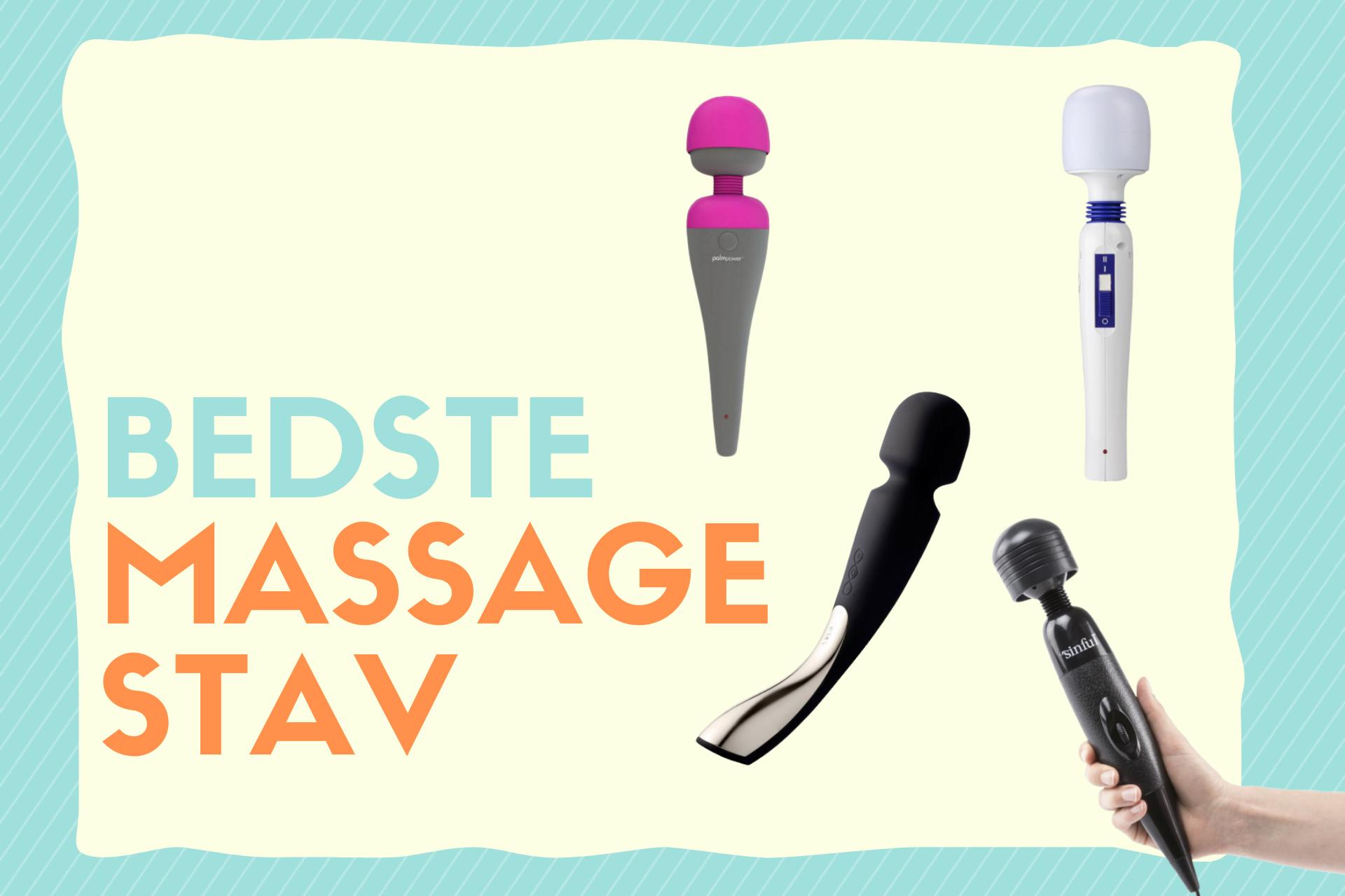 bedste massage stav i test
