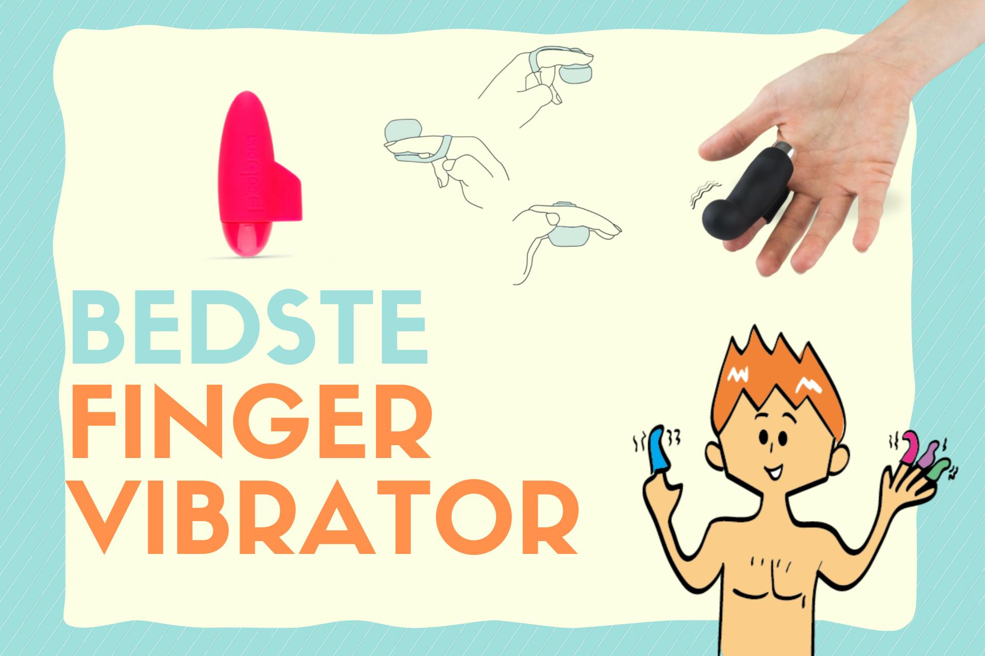 bedste finger vibrator