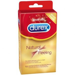 Durex Natural Feeling Latexfri Kondomer 10 stk