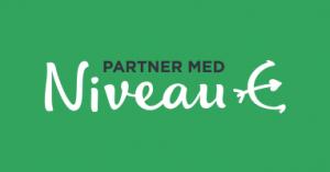 Partner med niveau logo