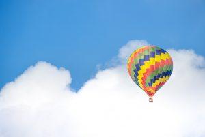 ballonflyvning romantisk oplevelse