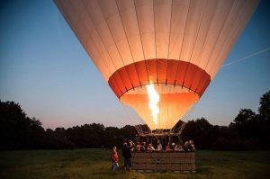 ballonflyvning romantisk