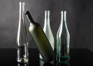 bottles empty glass romantisk dag med kæresten