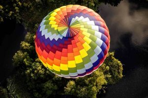 privat ballonflyvning for