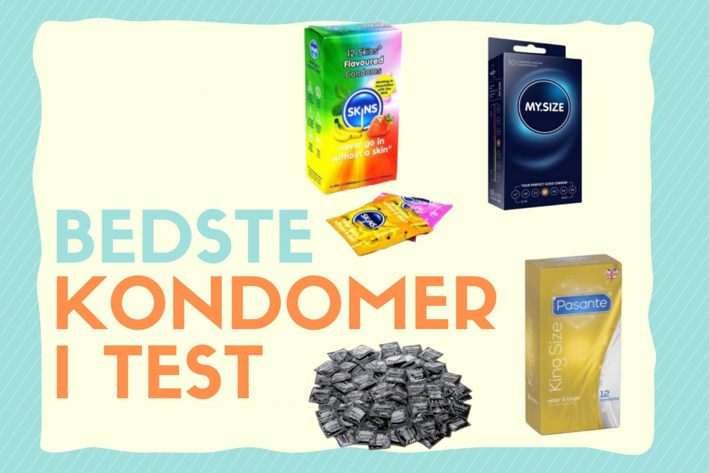 Bedste kondomer i test