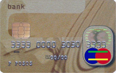 credit card 3 inch penios