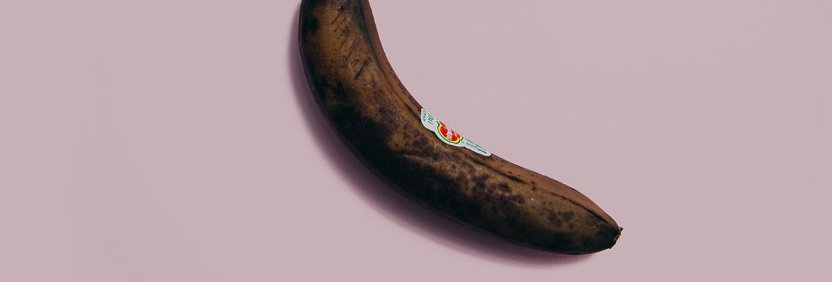 curved banana looking like penis