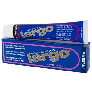 inverma largo massage creme til mænd 40 ml