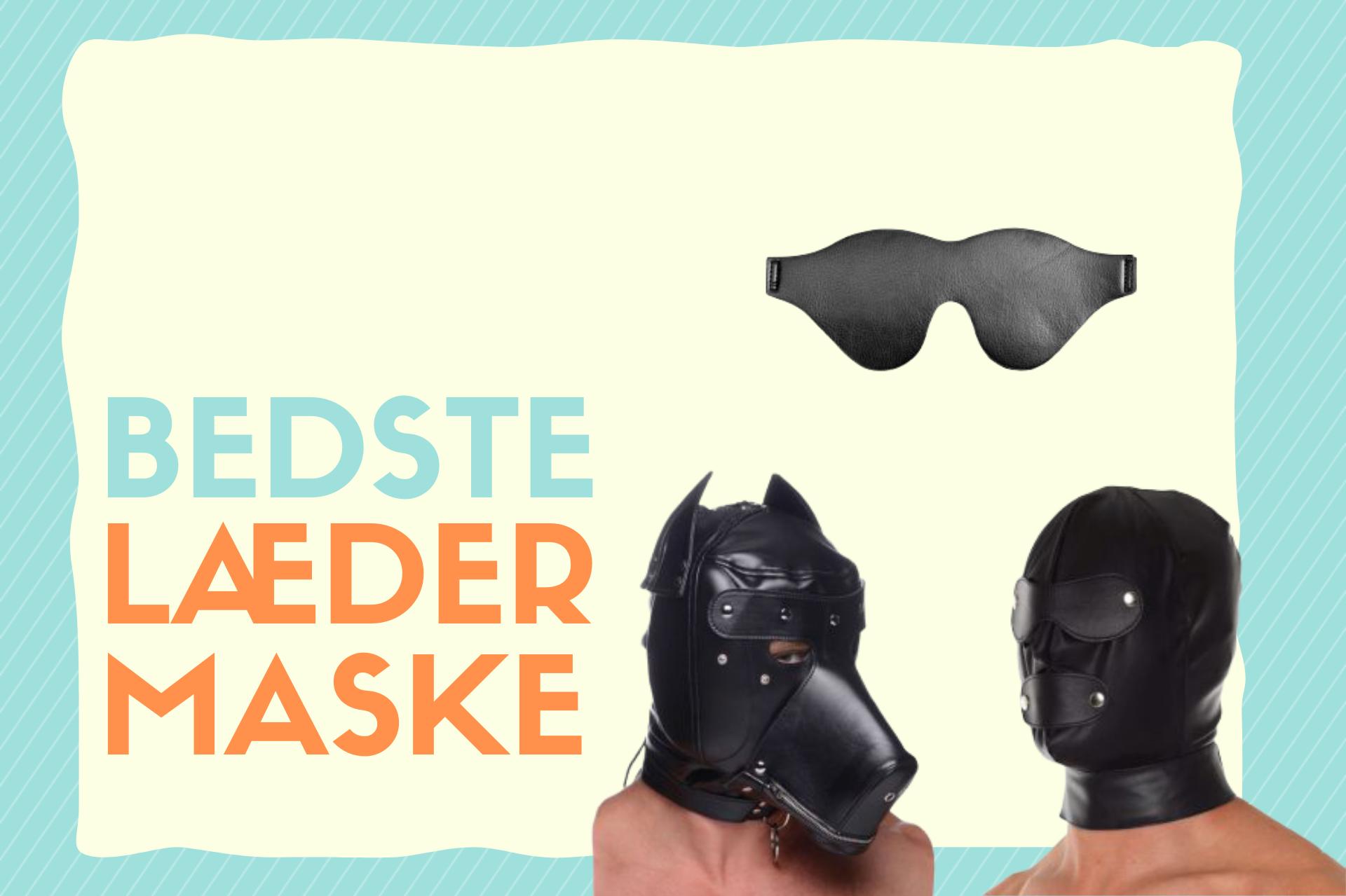 bedste læder maske