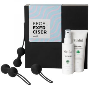 sinful kegel exerciser boks med a z guide