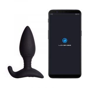 lovense hush app styret butt plug medium