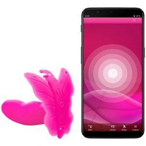 Reallove Lydia app-styret butterfly vibrator