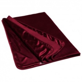 Liberator Fascinator Throw Merlot Luksus Lagen
