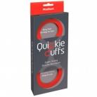 Quickie Cuffs Silikone Håndjern Medium Rød