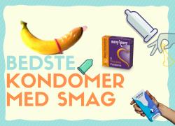 Bedste kondomer med smag