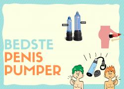 Penis pumpe: De 12 bedste i test