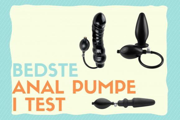 Anal pumpe – bedst i test