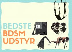 BDSM udstyr: Bedste bondage udstyr i test