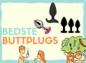 Buttplug: De bedste but plugs i test