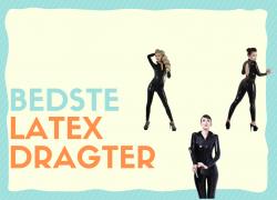 Latex dragter: De bedste til kvinder & mænd