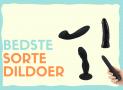 Sorte dildoer: De 5 bedste i test