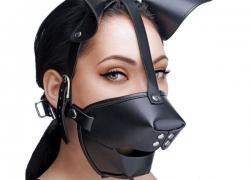 Hundemaske: Fetish dogmask til BDSM
