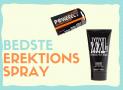 Erektions spray og creme til en hurtigere og hårdere rejsning