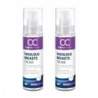 Fabulous Breasts Cream – Naturlig creme til feminin forbedring – 60ml Cream – 2 Packs