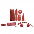 Red Roses Sexlegetøj Startpakke 9 dele